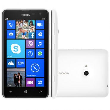 Nokia Lumia 625 Branco Windows Phone 8 4g Tela 4 7 1 2gh